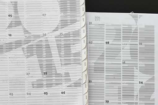 selected calendar covers / 2015, 2016